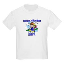 Happy Birthday Baseball Mark Kids T-Shirt