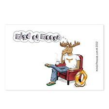 3x5 moose herf color 2012 Postcards (Package of 8)