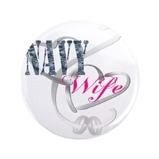 "navywifehearts 3.5"" Button"