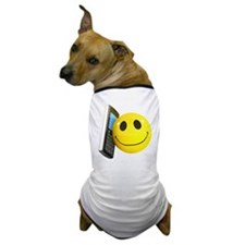 3d-smiley-mobile Dog T-Shirt