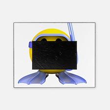 3d-smiley-scuba Picture Frame