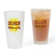 LINEDANCE Drinking Glass