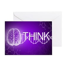 Think Greeting Card