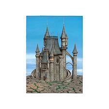 Fairy Tale Castle 5'x7'Area Rug