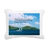 Boats Rectangle Canvas Pillows