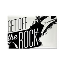 GetOffTheRock Rectangle Magnet