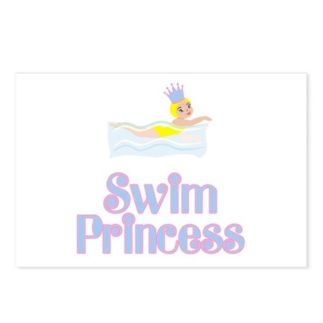 SwimChick Princess Postcards (Package of 8)