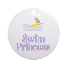 SwimChick Princess Ornament (Round)