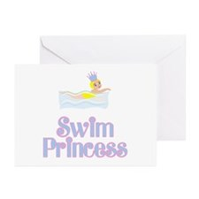SwimChick Princess Greeting Cards (Pk of 10)