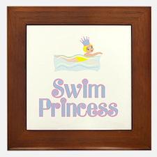 SwimChick Princess Framed Tile