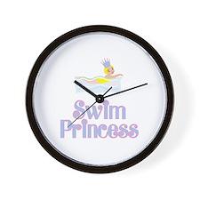 SwimChick Princess Wall Clock