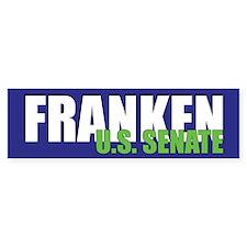 Franken for US Senate Bumper Bumper Sticker