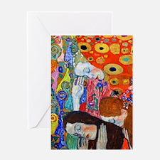K/N Klimt Hope II Greeting Card