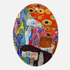K/N Klimt Hope II Oval Ornament