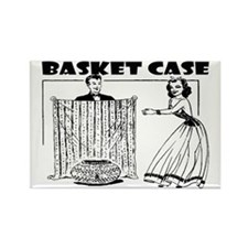 basketcase Rectangle Magnet