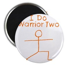 Warrior Two O Magnet