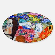 Clutch Klimt Hope II Sticker (Oval)