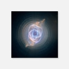 "catseyenebula_hubble (2) Square Sticker 3"" x 3"""