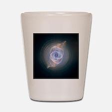 catseyenebula_hubble (2) Shot Glass