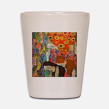 Button Klimt Hope II Shot Glass