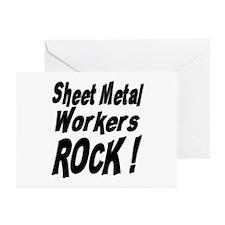 Sheet Metal Rocks ! Greeting Cards (Pk of 10)