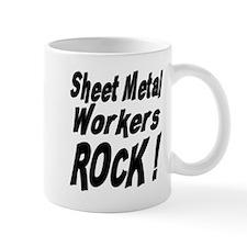 Sheet Metal Rocks ! Small Mug
