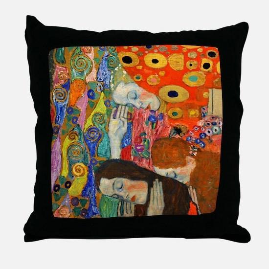 Shirt Klimt Hope II Throw Pillow