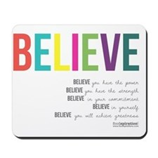 Believe_revised_products_2 Mousepad