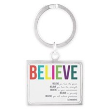 Believe_revised_products_2 Landscape Keychain