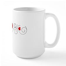 Heart Flourish 1t Mug