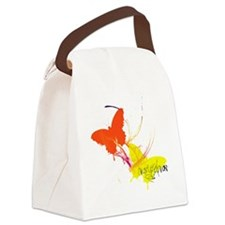 butterfly.gif Canvas Lunch Bag