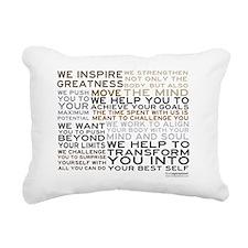 TRAINER-MANIFESTO_PRODUC Rectangular Canvas Pillow