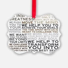 TRAINER-MANIFESTO_PRODUCTS Ornament