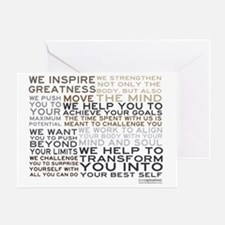 TRAINER-MANIFESTO_PRODUCTS Greeting Card