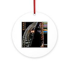 ipad sleeve_0057_Sydney1_Harbour_Br Round Ornament