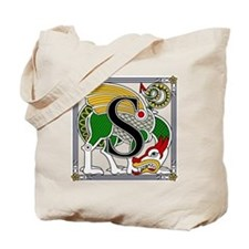Celtic Dragon Art S Tote Bag