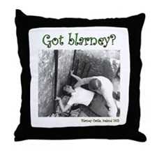 Gaining the Gift of Gab Throw Pillow