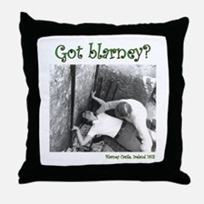 Gaining the Gift of Gab Throw Pillow