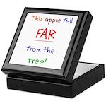 This Apple Fell Far Keepsake Box