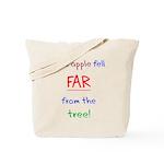 This Apple Fell Far Tote Bag