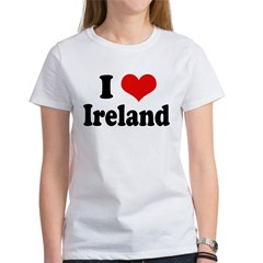 I Heart Ireland Love Tee