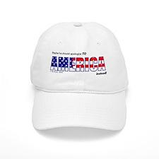 America_Apology Baseball Cap