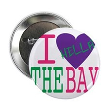 "I Love The Bay (Purp).gif 2.25"" Button"