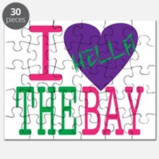 I Love The Bay (Purp).gif Puzzle