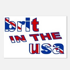 BRIT IN THE USA Postcards (Package of 8)