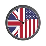 Britain usa Wall Clocks