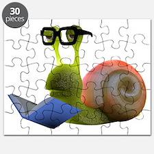 3d-snail-bookworm Puzzle
