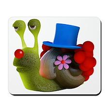 3d-snail-clown Mousepad