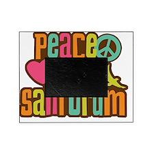 PeaceLove3Santorum Picture Frame