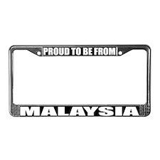 Malaysia License Plate Frame